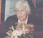 Naomi Mitchison on her 100th birthday in 1997