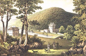 Saddall Castle from Cuthbert Bede's 'Glencreggan'